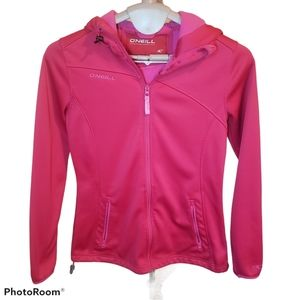 BOGO O'neill all weather shell jacket pink tattoo